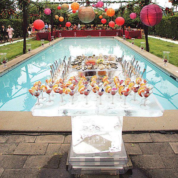 Il catering perfetto per la festa in piscina for Addobbi per feste in piscina