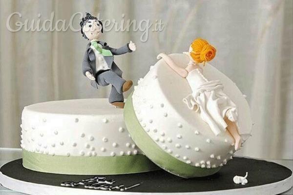 Torta per il divorzio: quando l'addio è dolce