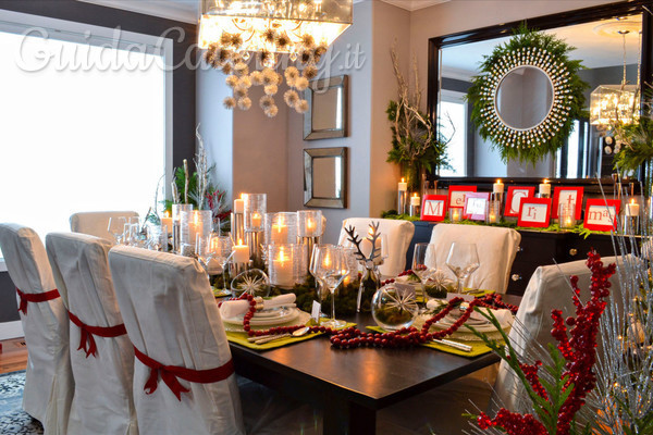 Idee handmade: come decorare le sedie a Natale - GuidaCatering.it