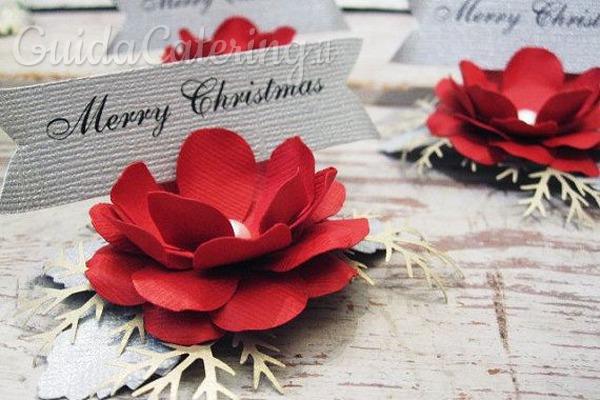 Decorare Tavola Natale Fai Da Te : Segnaposto originali fai da te per la tavola di natale