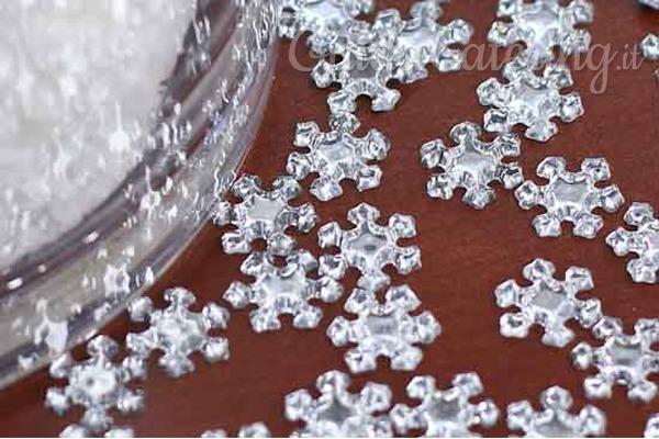 Fiocchi Di Neve Di Carta Fai Da Te : Inverno a tavola decorare con i fiocchi di neve guidacatering