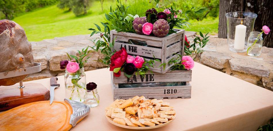 Centrotavola Matrimonio Rustico : Matrimonio in stile rustico i segreti per una decorazione