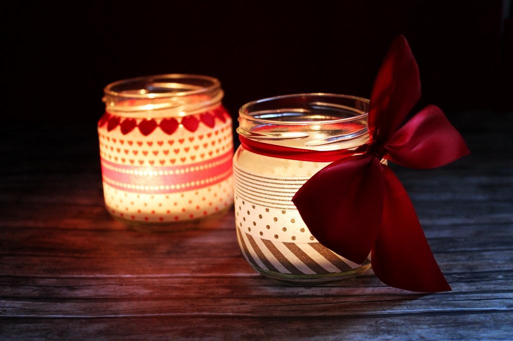 natale handmade come decorare le candele. Black Bedroom Furniture Sets. Home Design Ideas