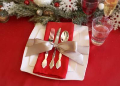 Fai da te a tavola 8 portaposate natalizi - Addobbi natalizi sulla tavola ...