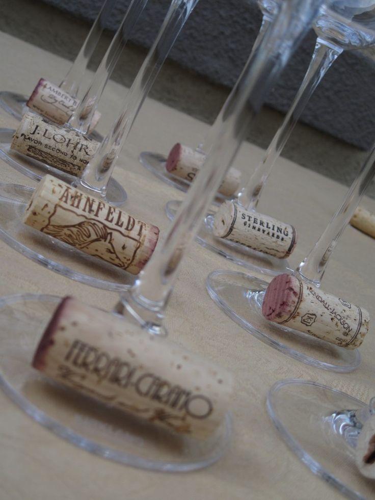 Decorazioni per la tavola fai da te con i tappi di sughero - Decorazioni tavola fai da te ...