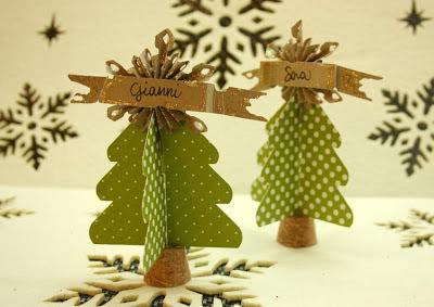 Segnaposto Natalizi In Carta.Segnaposto Originali Fai Da Te Per La Tavola Di Natale