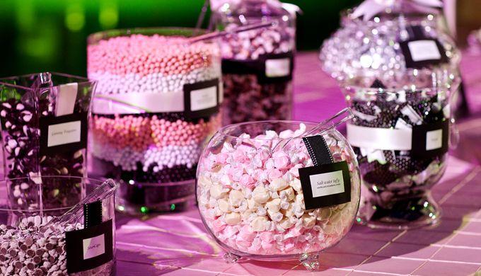 Preferenza Le caramelle entrano nei grandi eventi con il candy corner  NB49
