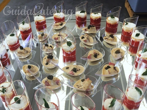 Antipasti in formato finger food