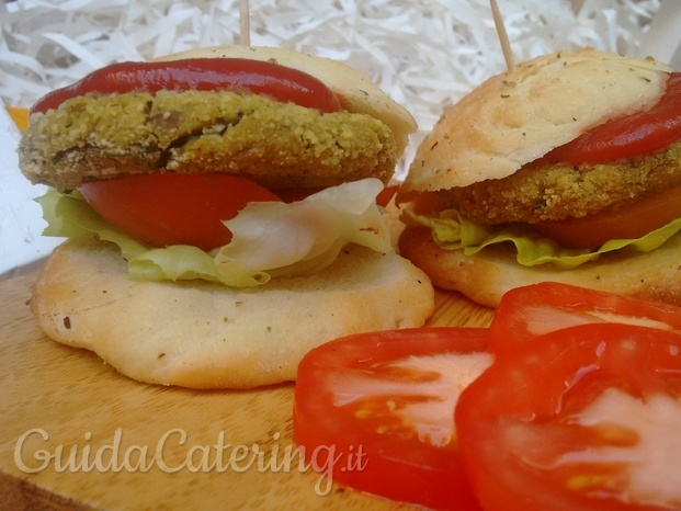 Mini burger vegetali