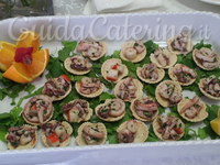 insalata di mare finger food