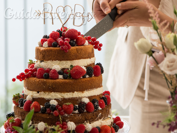 Fruit Wedding Naked cake
