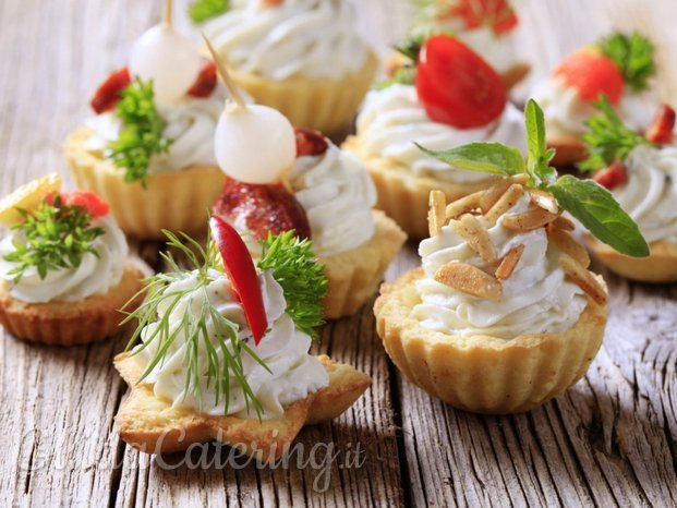 Finger food profumato