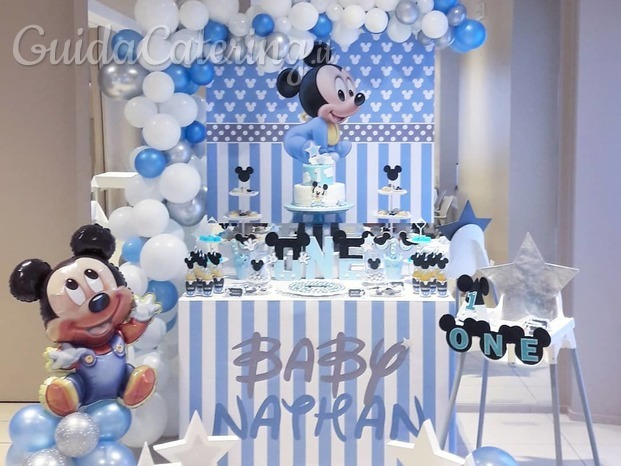 Primo Compleanno a tema Mickey Mouse